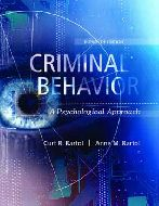 Criminal Behavior: A Psychological Approach